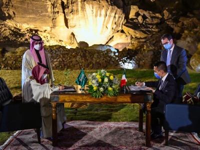 Renzi's meeting in Saudi Arabia
