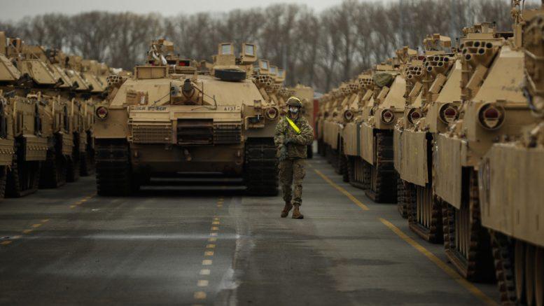 NATO maneuvers in Belgium
