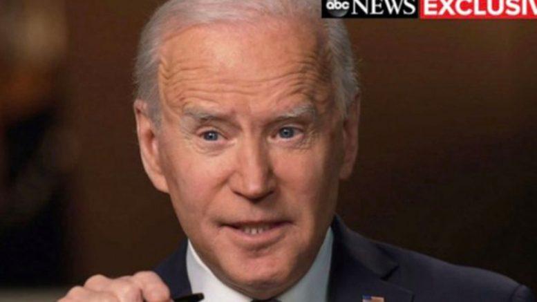Intervista ABC a Biden