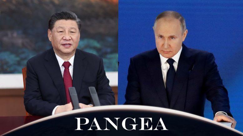 Die Reden von Wladimir Putin und Xi Jinping